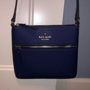 Blue Kate Spade Cross Body small-medium purse
